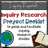 Inquiry Research Project Booklet -- Inquiry Based Learning