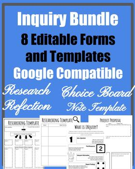 Inquiry Research Templates