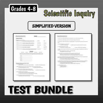 Inquiry Science Test Bundle