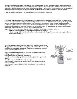 Inquiry / Scientific Method Living Environment Regents Review