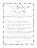 Inquiry Skills Foldable