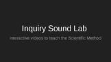 Inquiry Sound Lab Pre-Teaching