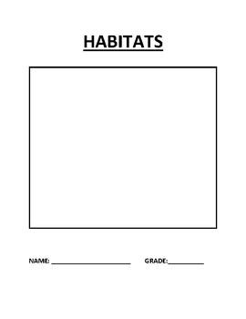 Inquiry Study on Habitats