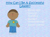 Inquiry Unit - How can I be a successful leader?