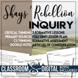 Inquiry Unit Plan The Articles of Confederation Shays' Reb