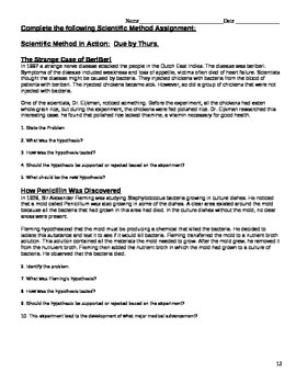 Inquiry Unit Student Packet
