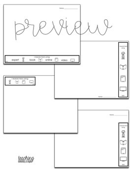 Inquiry Writing Pages