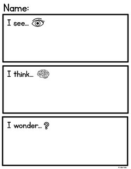Inquiry Writing Templates for Kindergarten