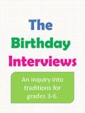Inquiry into Birthdays: A Birthday Interview Task