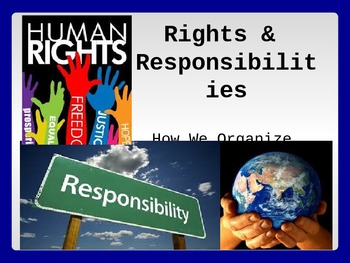 Inquiry into Rights and Responsibilities