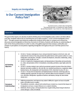 Inquiry on Immigration