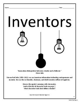 Research An Inventor: Science, Perspective, And Point Of View