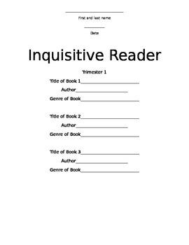Inquisitive Reader