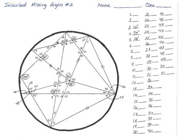Inscribed Angles #2