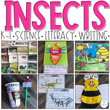 Insect (20+ Sorting, Writing & ELA Printables) K-1