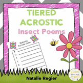 Insect Activities - Acrostic Poem Writing Templates