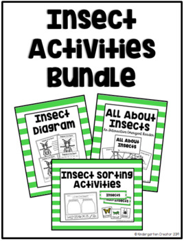 Insect Activities Bundle