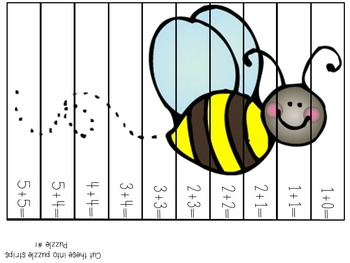 Insect Addition & Subtraction Puzzles