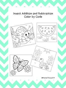 Insect Addition and Subtraction