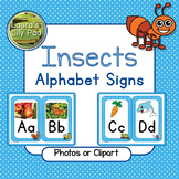 Insect Alphabet Signs
