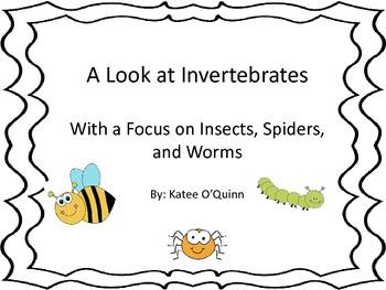 Insect, Arachnid, or Worm? Invertebrate Bump.