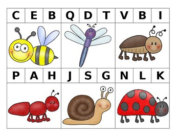 Insect Beginning Sounds