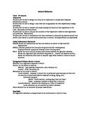 Insect Behavior Lesson Plan