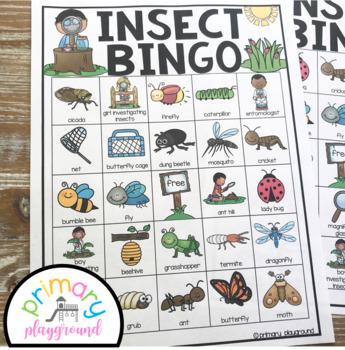 Insect Bingo