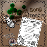 Insect Body Parts Song FREEBIE