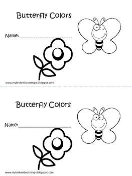 Kindergarten Insect Emergent Reader Books