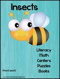 Insect Books, Centers, Activities, and Puzzles