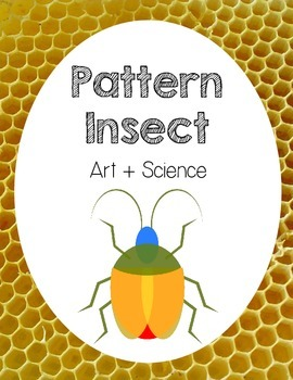 Insect Bug Art Science Cross-Curricular Activity