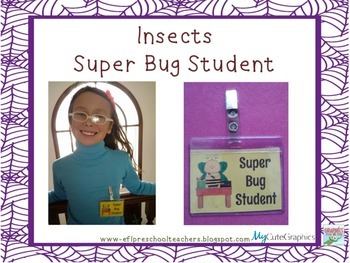 Insect-Bug Theme for ELL