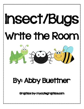 Insect Bugs Write the Room