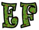 Insect Bulletin Board Letters
