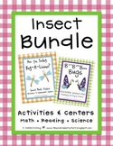 Insect Bundle - Math + Reading + Science Activities