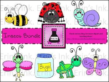 Insect Clip Art Bundle
