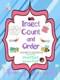 Insect Count and Number Order