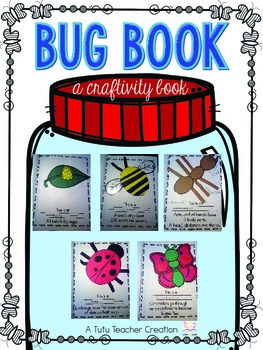 Insect Craftivity Book