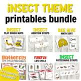 Insect Day Bundle for Hands-on Learning Kindergarten Activities