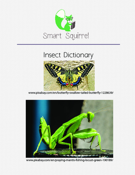 Insect Dictionary