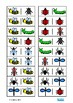 Insect Dominoes Game, Turn Taking Skills Autism & Special Education