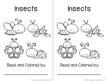 Insect Emergent Reader