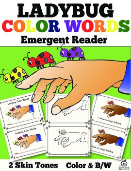 Insect Emergent Reader: Color Words
