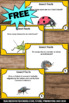 Free Insects Facts Task Cards Spring or Summer Science Center Activities & Games
