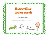 Insect Fine Motor Tracing Cards