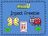 Insect Freebie