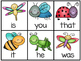 Insect Fry's First 50 Sight Word Game