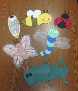 Insect Fun! 6 Insect Templates