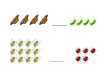 Insect Greater Than Less Than Activity